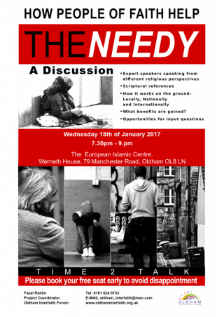 helping the needy discussion, Jan 2017- flyer