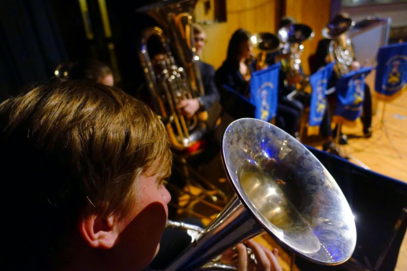 Christmas carols by Blue Coat School Brass Ensemble