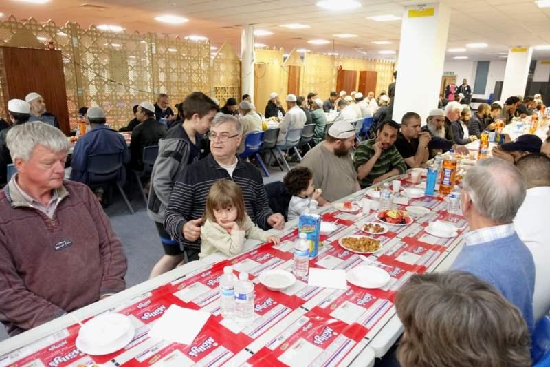 Interfaith fast day Iftar at EIC