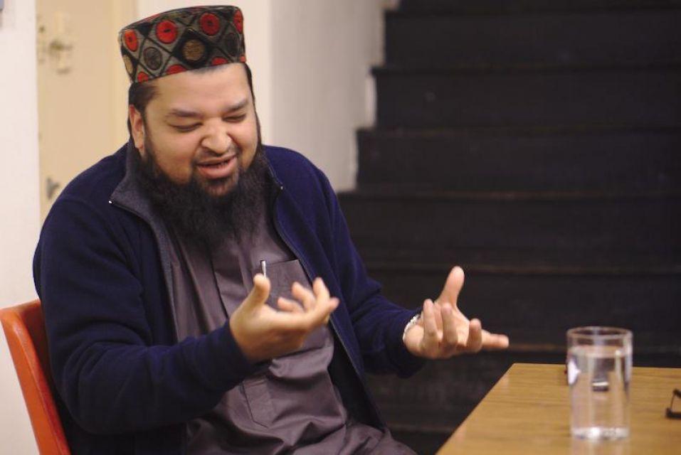 Mufti Mahmood Helal peaks of his life in Oldham