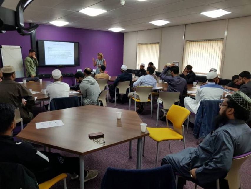 Oldham Mosques' Council in CSE Training Session