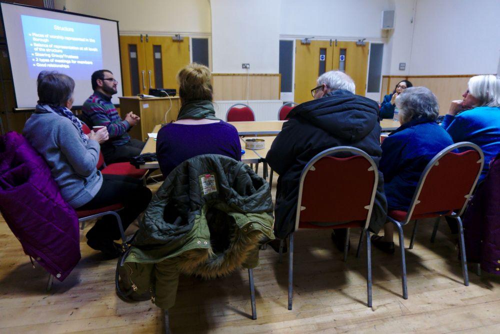 Fazal Rahim Meeting with Rochdale Interfaith