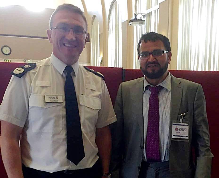 Fazal Rahim and Ian Hopkins
