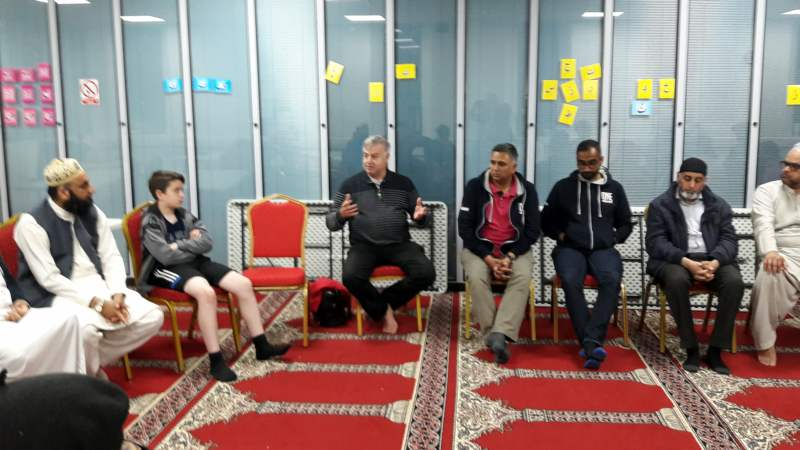 Interfaith fast day discussion at EIC