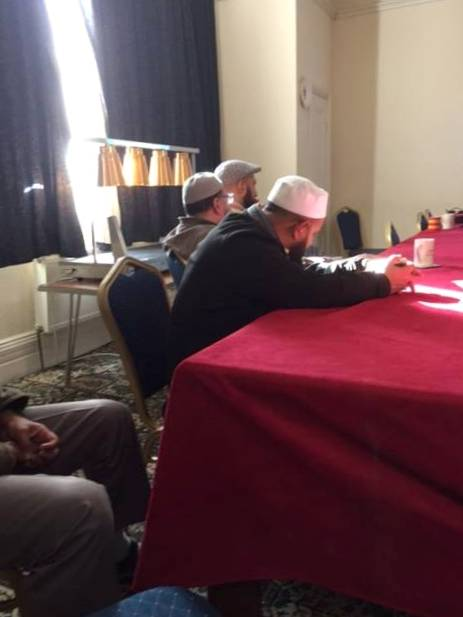 CT training of members of Oldham Mosques Council