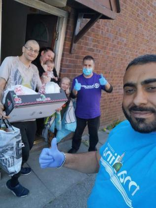 Foodpacks delivered by Planet Mercy