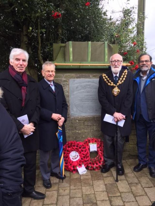 Sergeant Thomas Steele VC commemoration held in Springhead