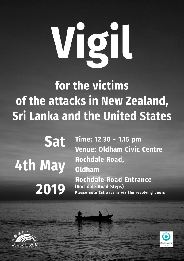 poster image for vigil on the 4th May