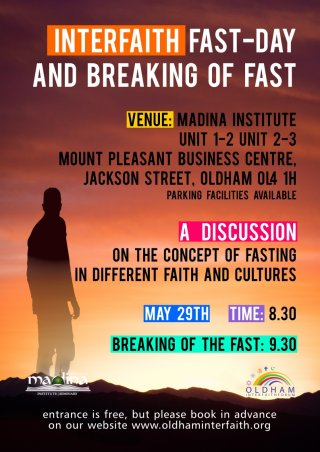 Interfaith Fast Day & Breaking of the Fast